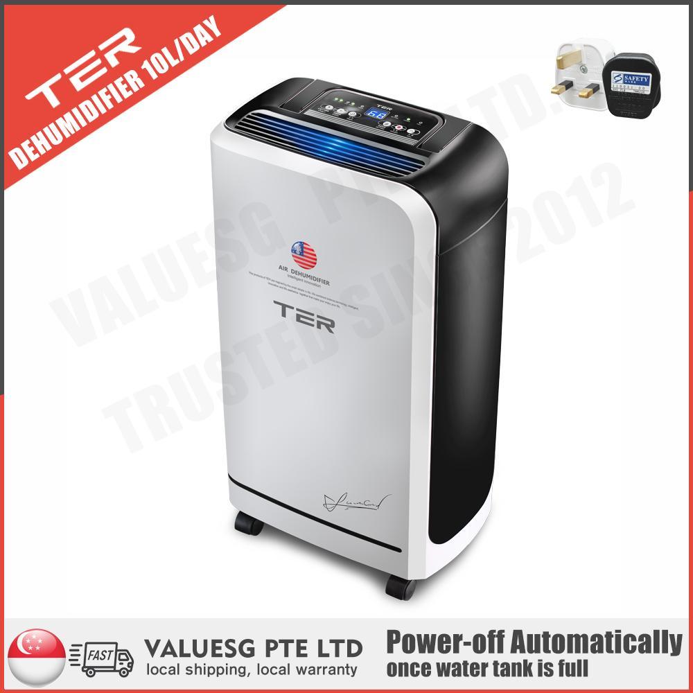 TER Dehumidifier/ 10L/D Dehumidifier Capability/ Compressor Type/SG Plug/ Up