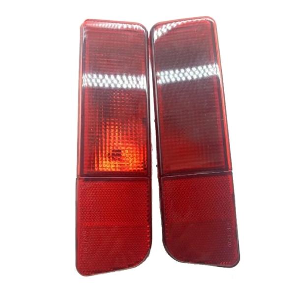 Car Rear Bumper Light Fog Light Reflector Light for Mitsubishi Outlander MN126573 MN126574 OLD/CU4 2001 - 2006