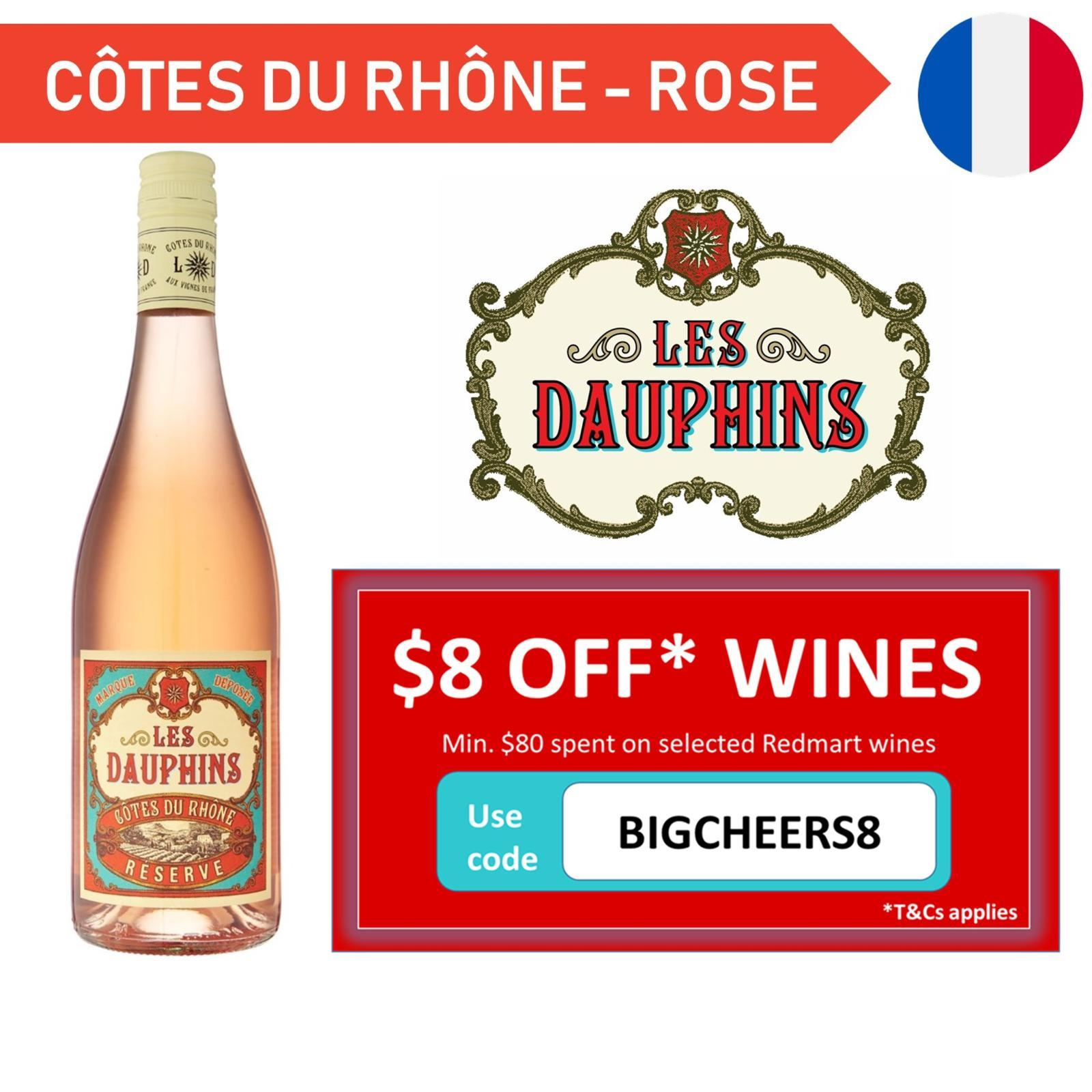 Les Dauphins Reserve Rose