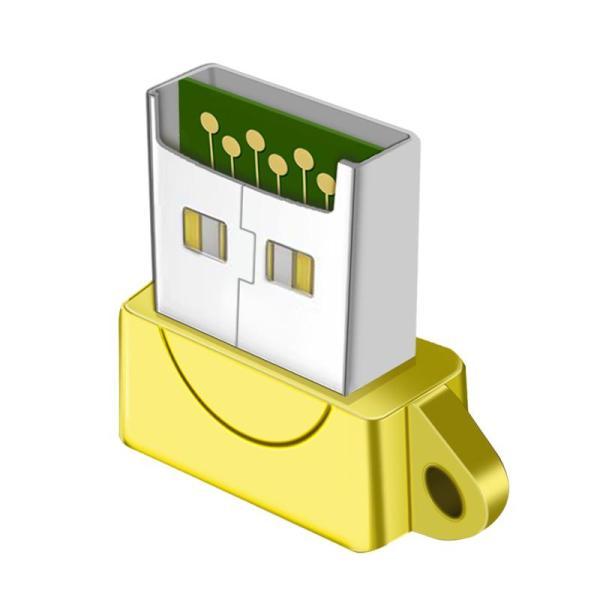 PESTON Metal Card Reader Mini Cellphone Memory Card High-Speed SD Card Computer Universal Multi-functional Adapter TF Card