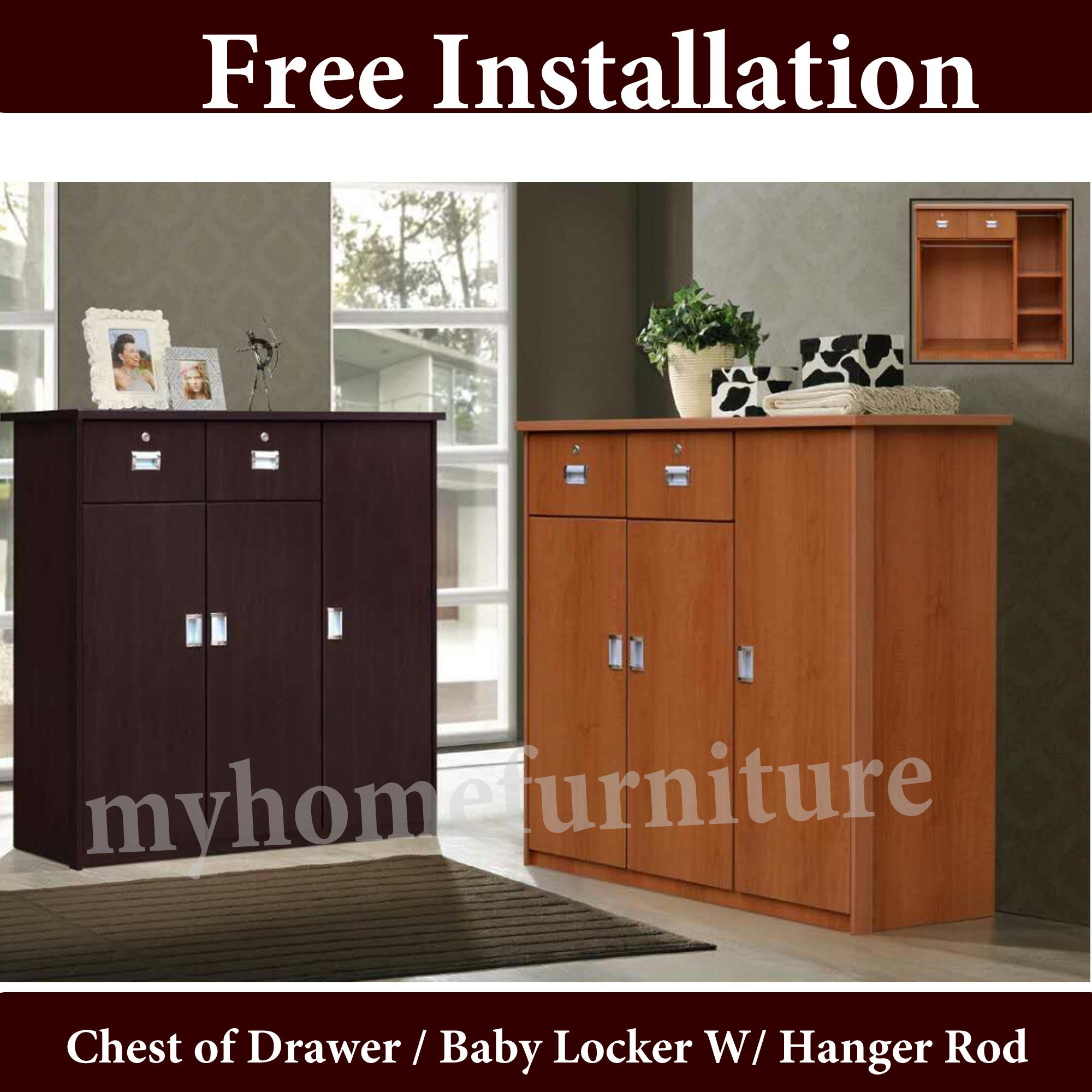 BESS Chest of Drawer / Baby Locker (Free Delivery and Installation)