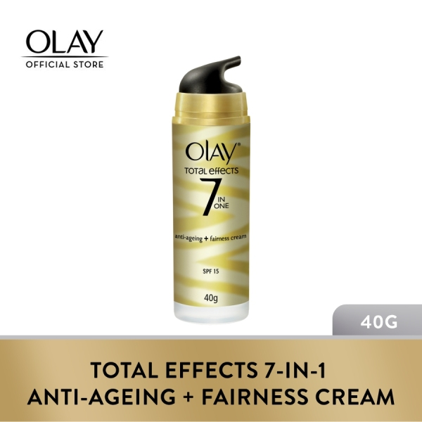 Buy Olay Total Effects 7-in-1 Anti-Ageing + Fairness Cream SPF15 40g Singapore