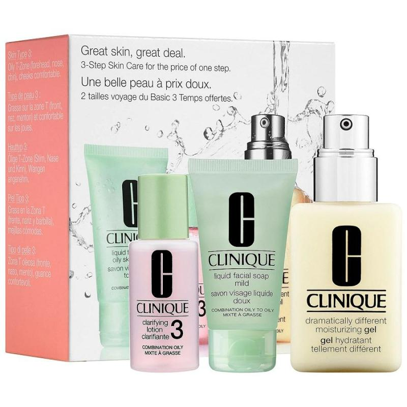 Buy [CLEARANCE] Clinique Dramatically Different Moisturizing Gel Skincare set Singapore
