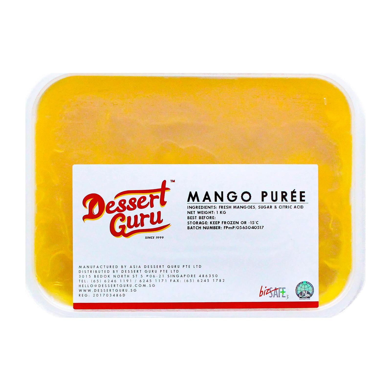 Dessert Guru Mango Puree - Frozen By Redmart.
