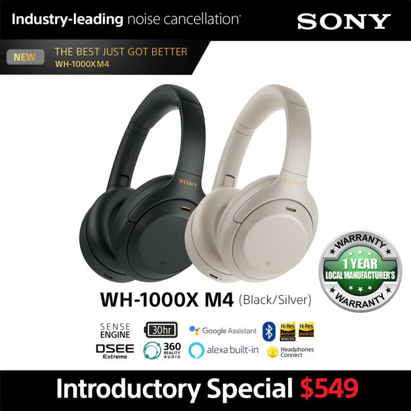 Sony WH-1000XM4 Wireless Noise-Canceling Headphones Singapore