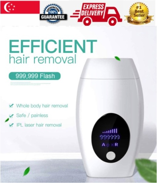 Buy (SG Seller) Permanent IPL Hair Removal Device 999,999 Flashes and 8 Energy Levels Facial Whole Body Professional Hair Removal System for Woman and Male At-Home Painless Safe Home Hair Removal System No more Waxing and Shaving (Ready Stocks) Singapore