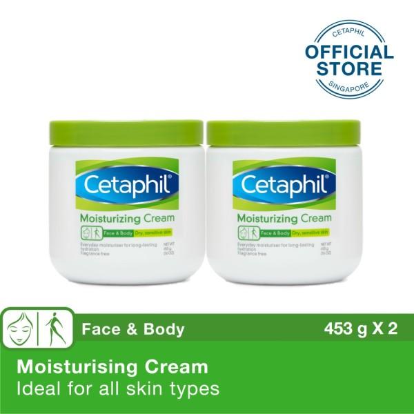 Buy CETAPHIL MOISTURISING CREAM 453G BUNDLE OF 2 Singapore