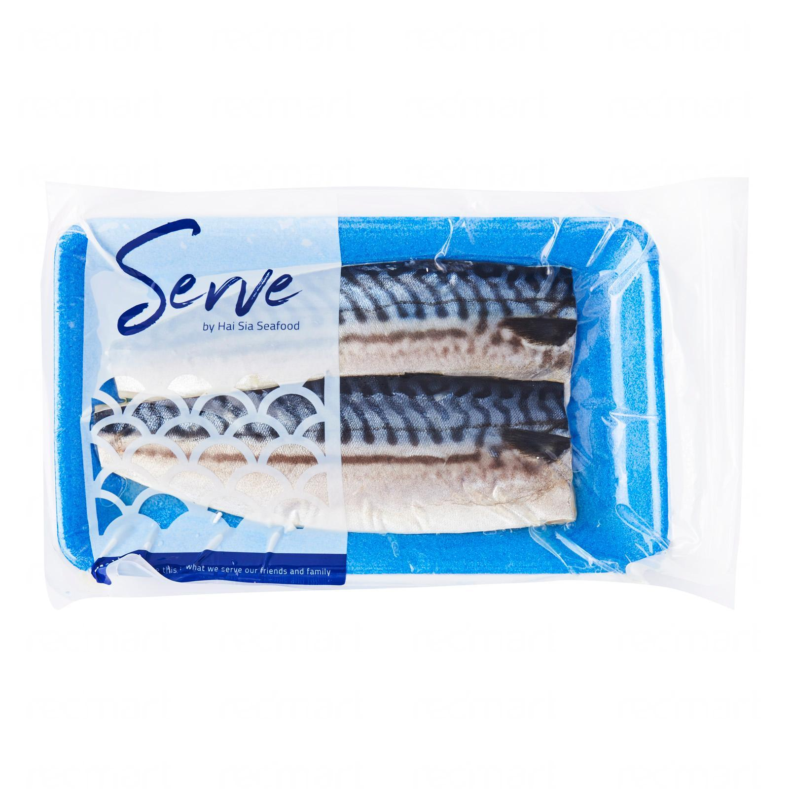Serve By Hai Sia Seafood Norwegian Saba Fillets - Frozen By Redmart.