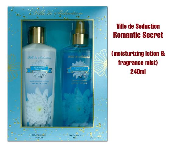Buy ROMANTIC SECRET VILLE DE SEDUCTION GIFT SET 240ML EACH (Made in USA) Singapore