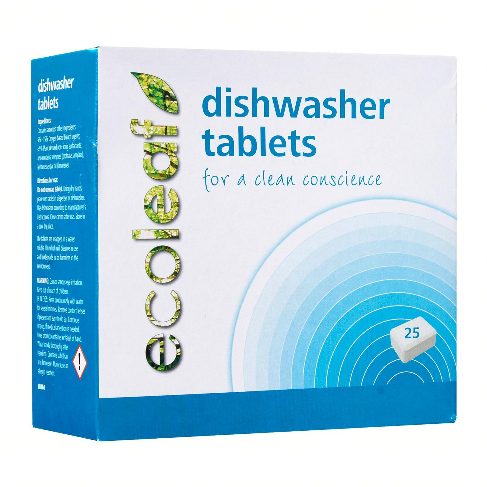 Ecoleaf Dishwasher Tablets For A Clean Conscience