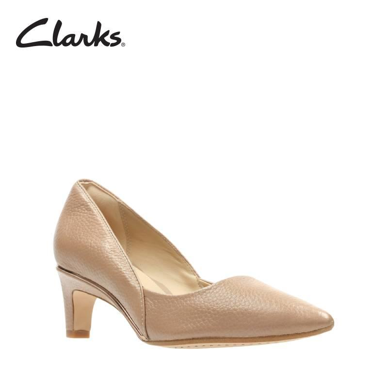 Clarks Ellis Rose Nude Leather Womens Dress Clarks Shoes By Clarks Official Store.