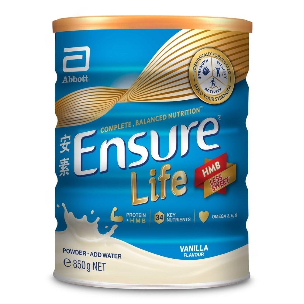 Ensure Life Vanila Flavor 850g By Watsons.