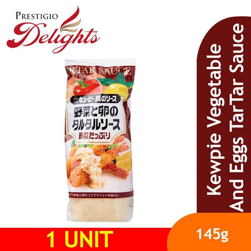 Kewpie Vegetable And Eggs Tartar Sauce By Prestigio Delights.