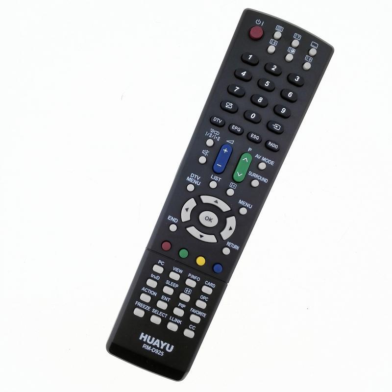 Huayu RM-D925 Sharp LCD TV Remote Control GA490WJSA GA565WJSA GA657WJSA