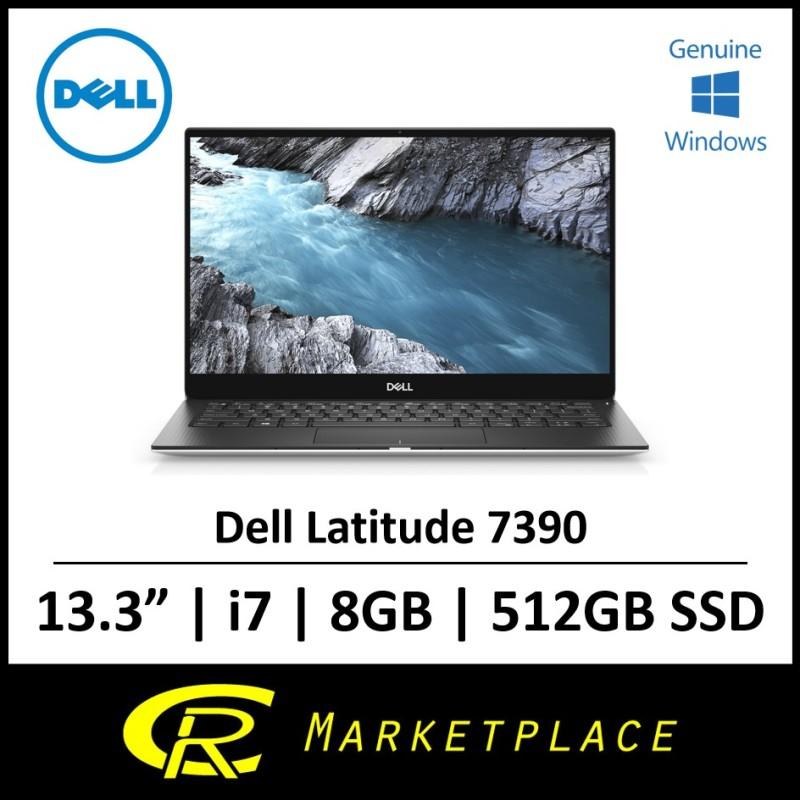 Dell Latitude 7390 Business Laptop 13.3in FHD (1920 x 1080) Non-Touch Intel® Core™ i7-8650U 8GB DDR4 512GB SSD