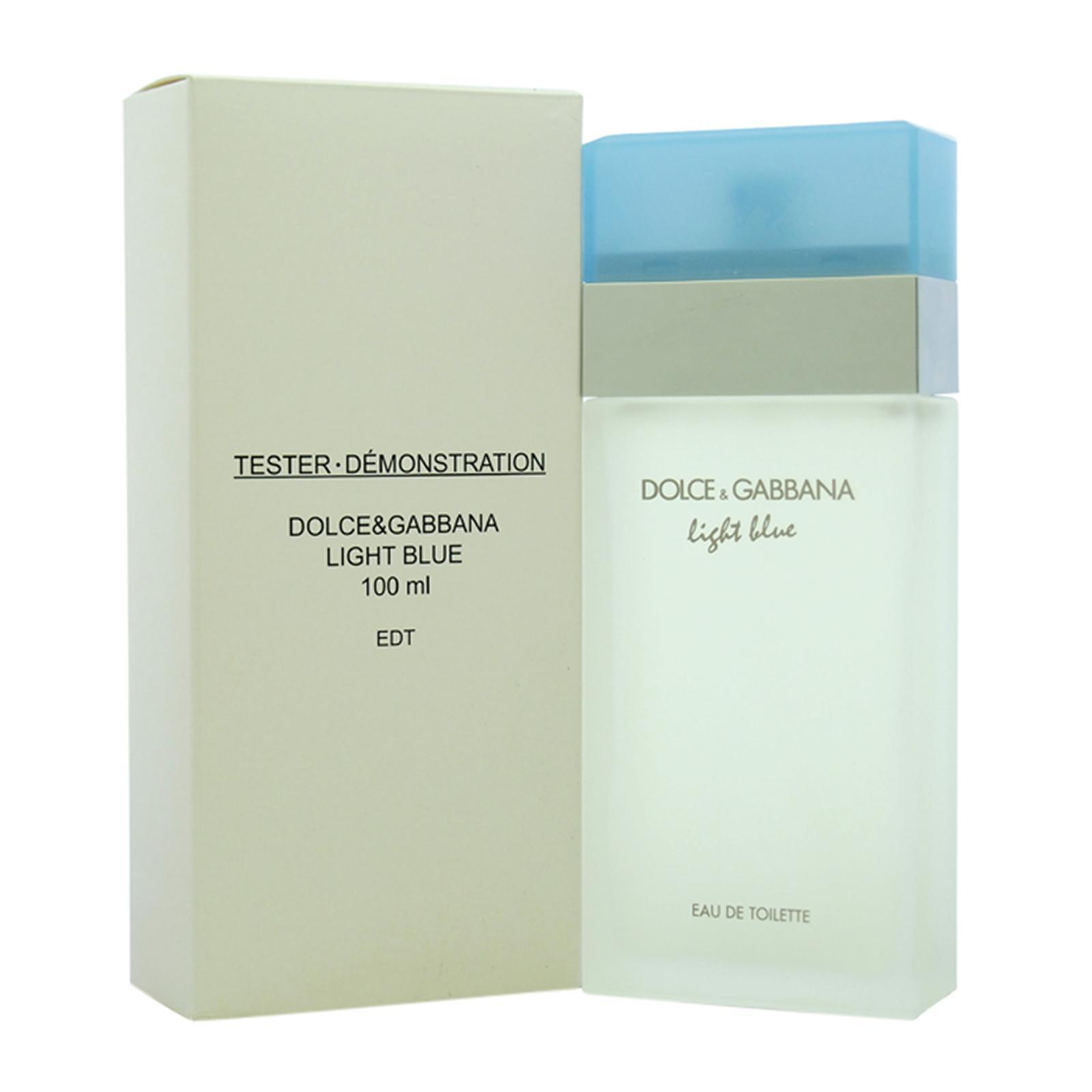 Dolce and Gabbana Light Blue For Women Eau De Toilette Perfume Fragrance Spray Tester - By BEAULUXLAB