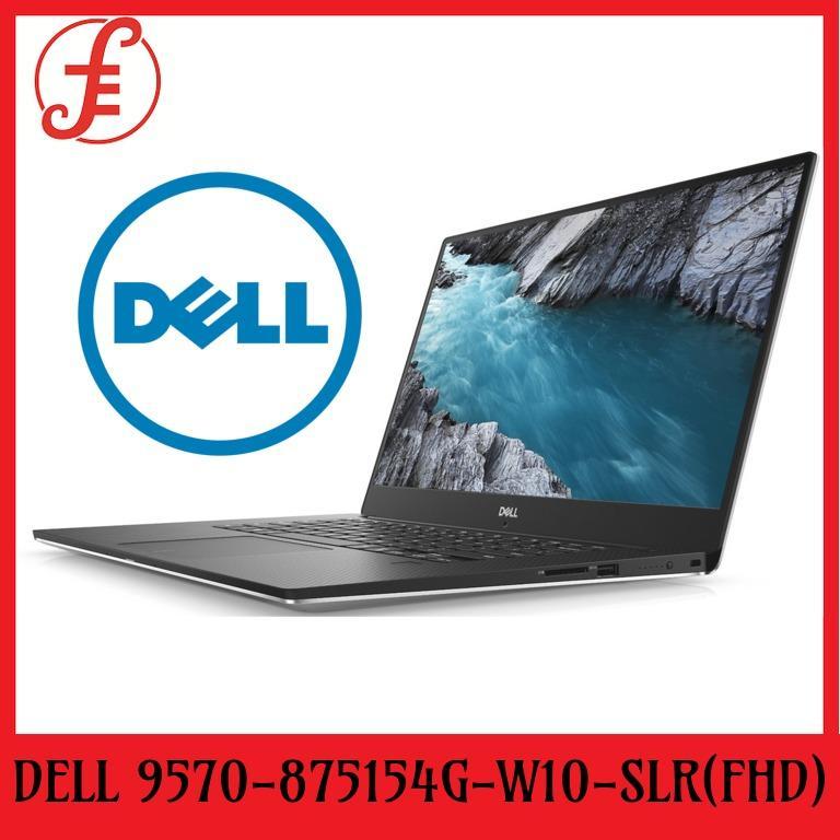 DELL 9570-875154G NOTEBOOKS (9570-875154G)-W10-SLR(FHD)