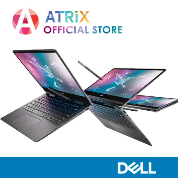 【Same Day Delivery】DELL Inspiron 13 7000 2-in-1 (7391) Black Edition 7391-Blk | 13.3 UHD 4K Touch | i7-10510U | 16GB RAM | 512GB PCIe SSD | 2Y Dell Onsite Warranty | Ready Stock Ship Today