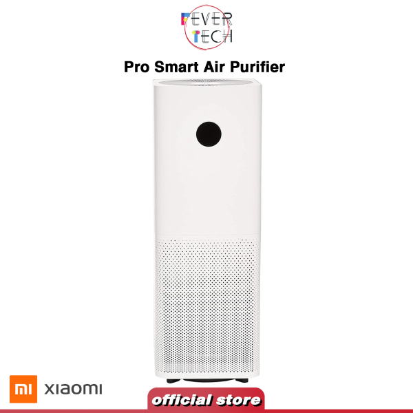 Xiaomi Pro Smart Air Purifier LED Touch Display 360° High Precision Laser Sensor with Mi Home APP Control, White Singapore