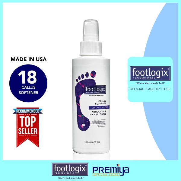Buy Footlogix® Callus Softener [Non-Aggressive Formula] 180 mL [FOOTLOGIX® OFFICIAL FLAGSHIP STORE] Singapore