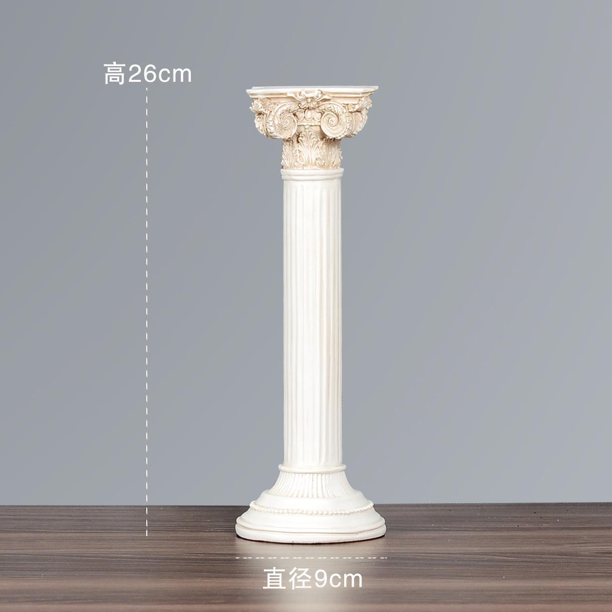 Creative European Style Roman Showcase Soft Decoration Living Room Decoration Photographic Prop Vintage 58 Resin Decoration