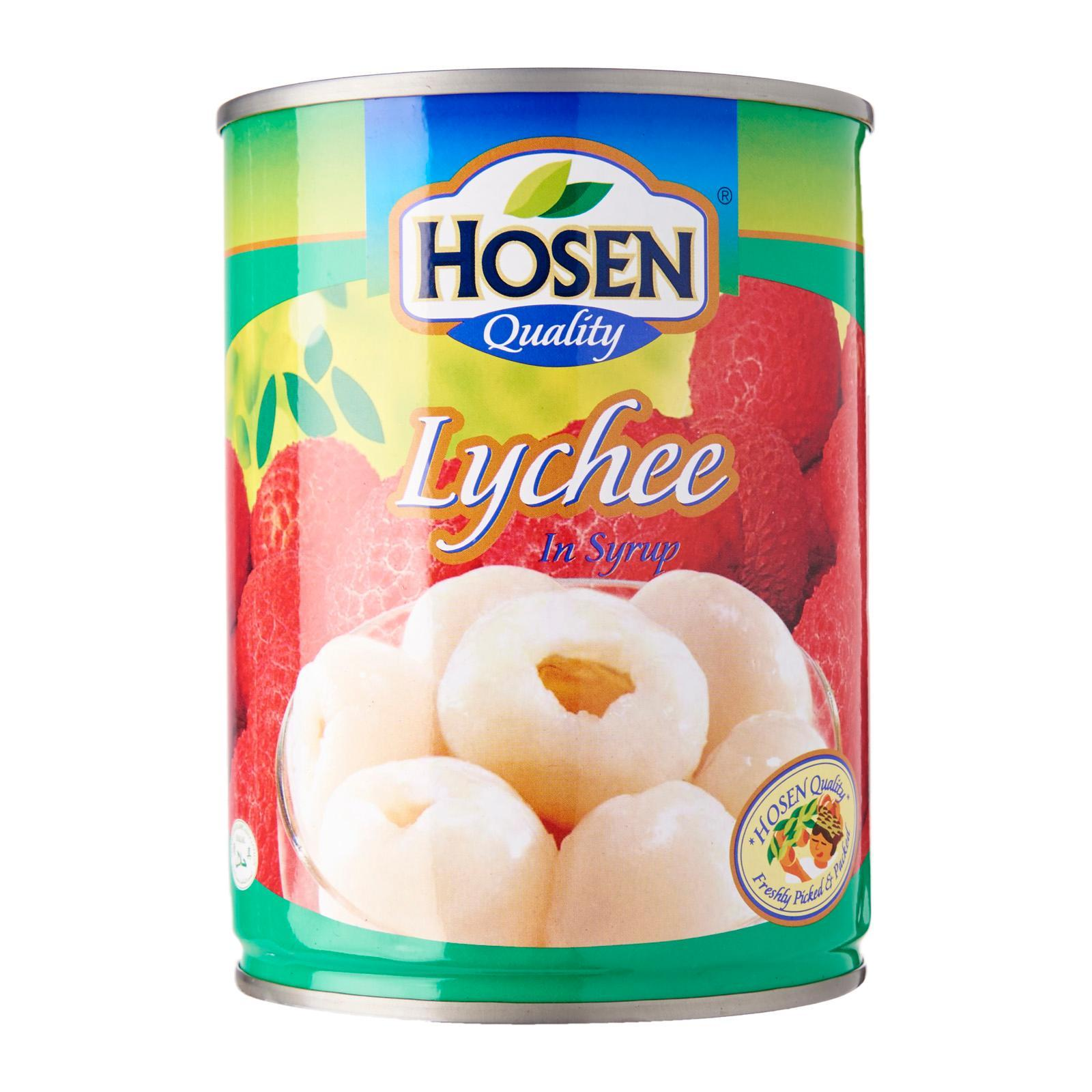 HOSEN Lychee In Syrup 565g