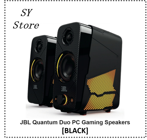 JBL Quantum Duo PC Gaming Speakers - SY Store Singapore