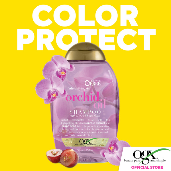 Buy OGX Orchid Oil Shampoo 385ml Singapore