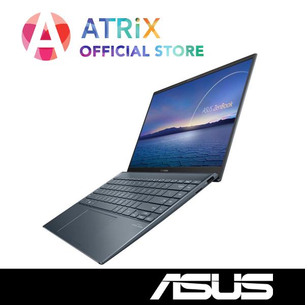 2020 ASUS ZenBook 14 UX425JA-BM064T | 14inch FHD 100% sRGB 300nits | Wifi 6 AX | i5-1035G1 | 8GB RAM | 512GB PCIe SSD | Win10 Home | 2Yr ASUS Warranty