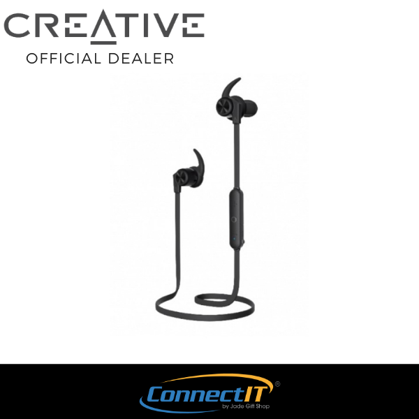 Creative Outlier Active Wireless Earphones With IPX4 Rating and Up to 10Hrs of Battery Life [ 1 Year Local Warranty ] Singapore