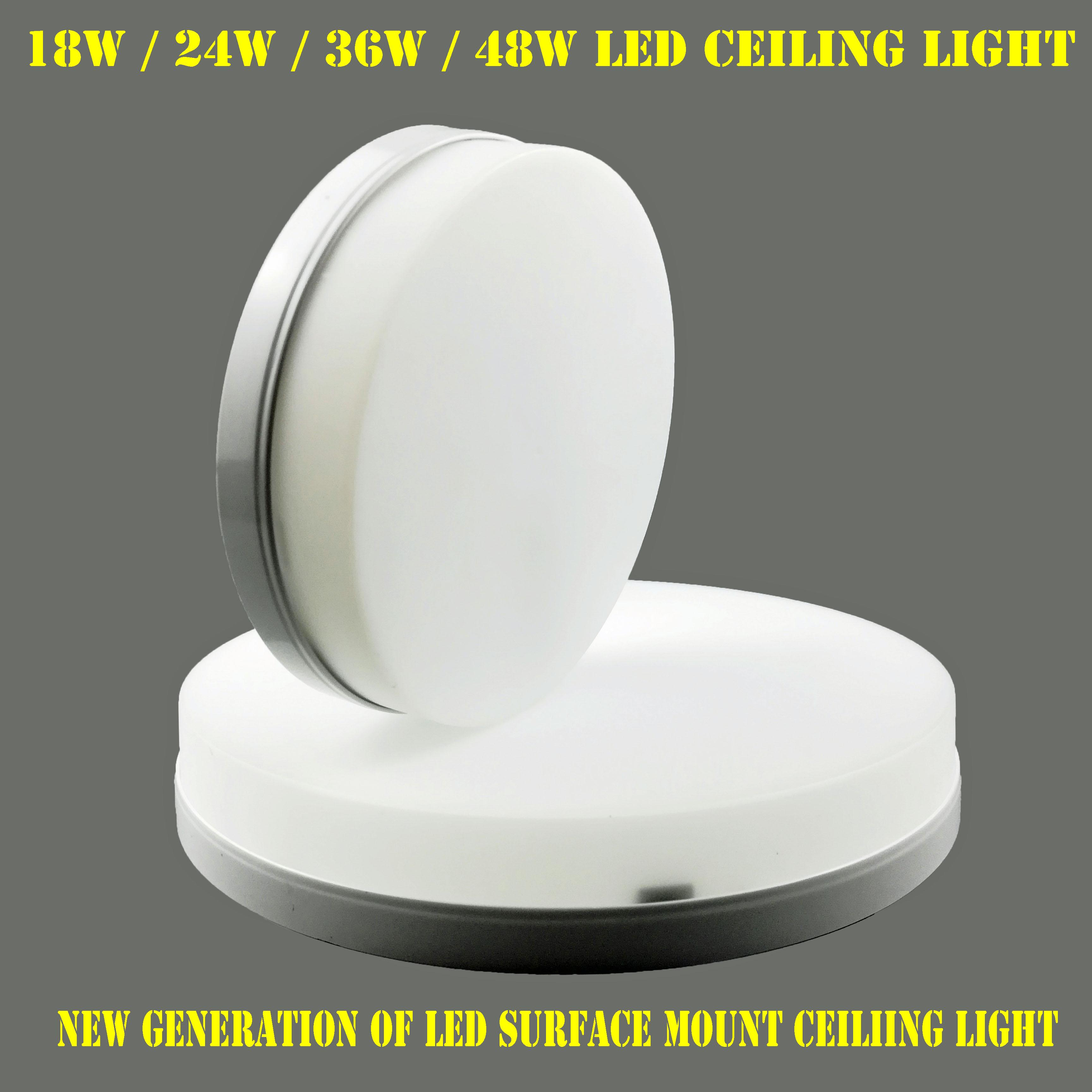 LED Ceiling Light/ LED Surface mount ceiling Light/ LED PANEL LIGHT  (18W & 24W & 36W & 48W/ 2nd Generation LED LIGHT / Small size, Super slim design and high brightness LED LIGHT) - PROACTIVE SUPER MALLnd
