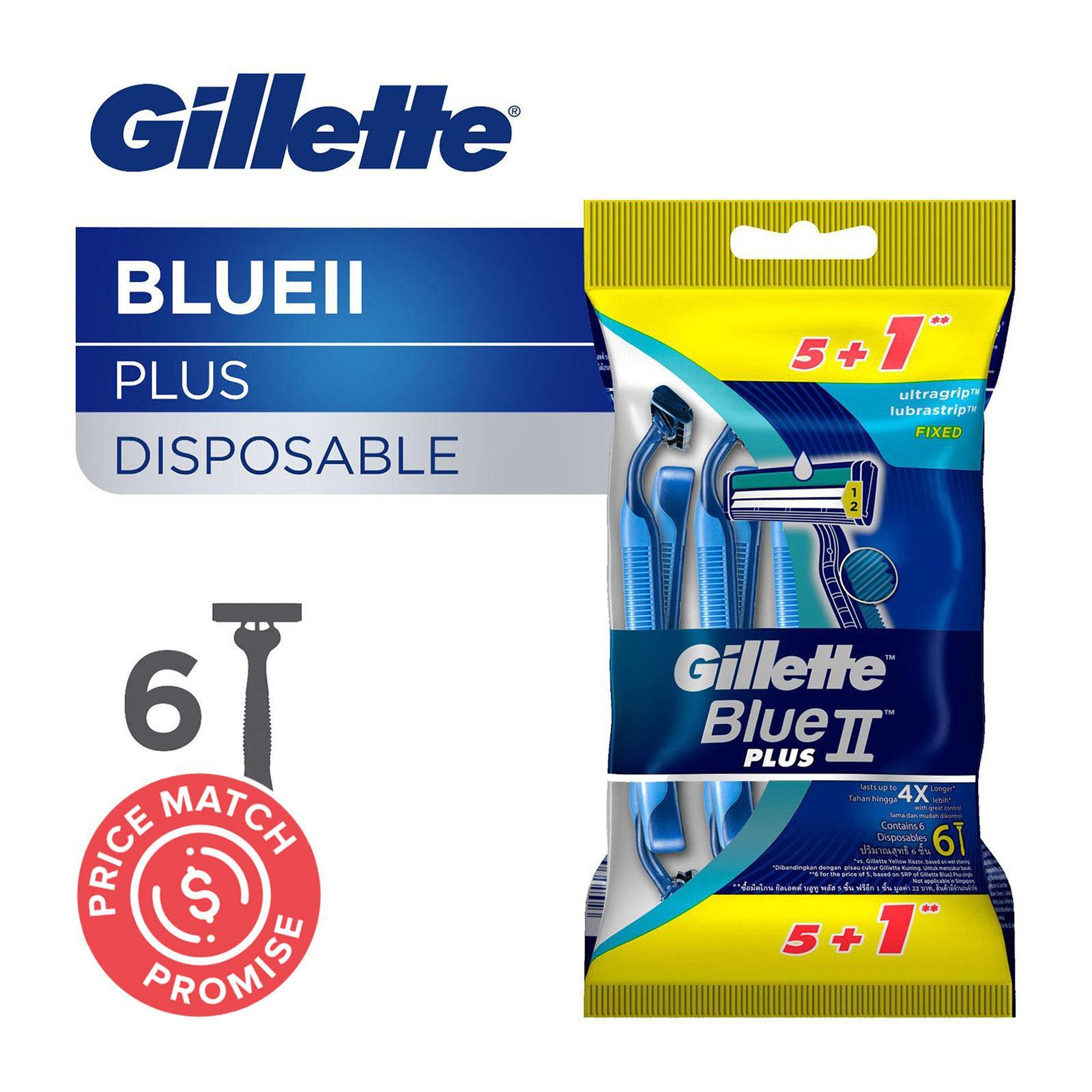 Gillette Blue II Plus Disposable Razors