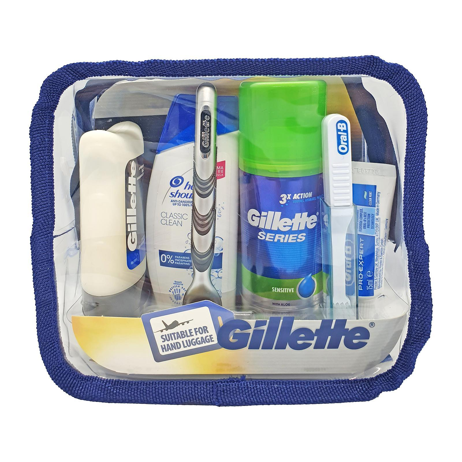 Gillette Travel Set Suitable For Hand Luggage
