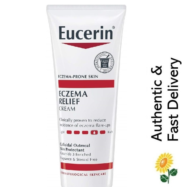 Buy Eucerin Eczema Relief Body Cream, 226g [Fragrance Free, Dye and Steroid-free | Dermatologist Recommended] Singapore