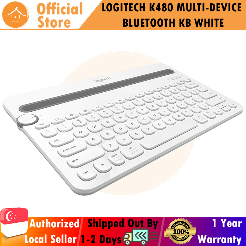 Logitech K480 Black Bluetooth Multi-Device Keyboard (iOS, Android, OSX, iPhone) Singapore