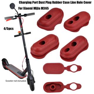 SAUSAGE 4 5pcs Bán chạy Màu đỏ Dụng cụ ngoài trời Phụ kiện ván trượt Phụ tùng xe tay ga điện Hộp cắm bụi Nắp cổng sạc Thay thế xe tay ga thumbnail