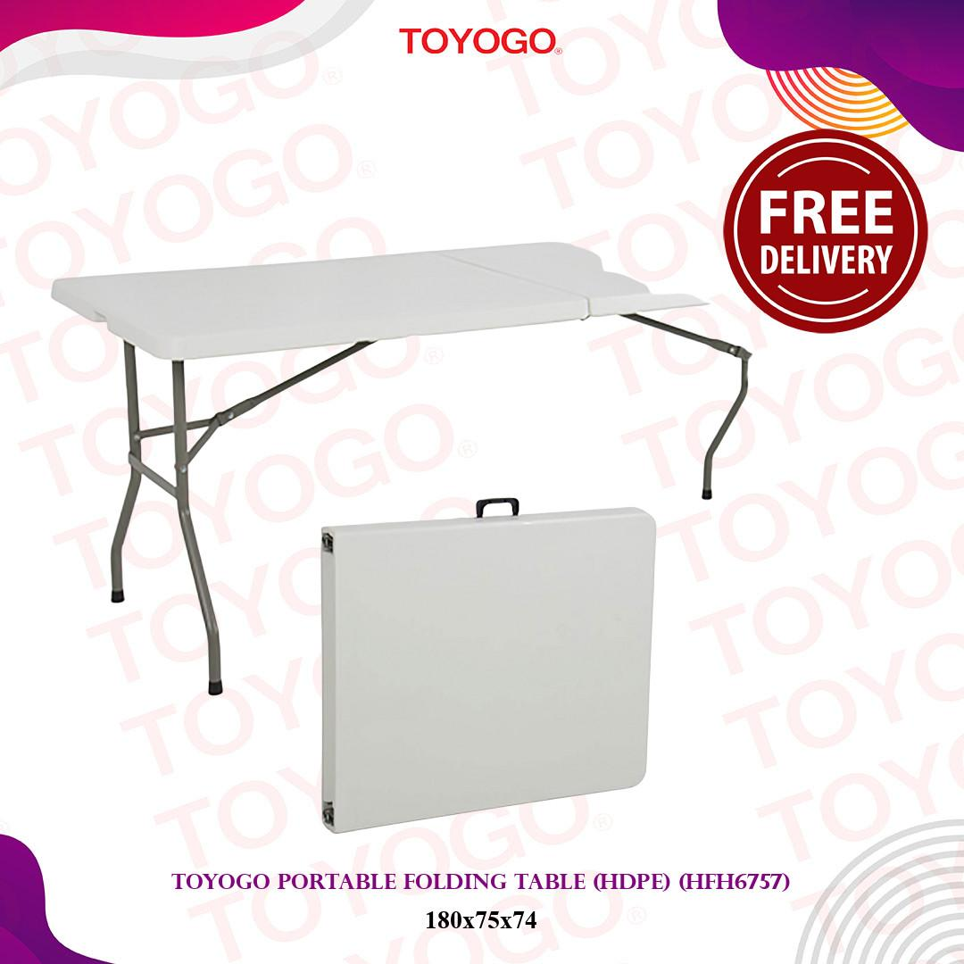Toyogo Portable Folding Table (HDPE)(HFH6757)