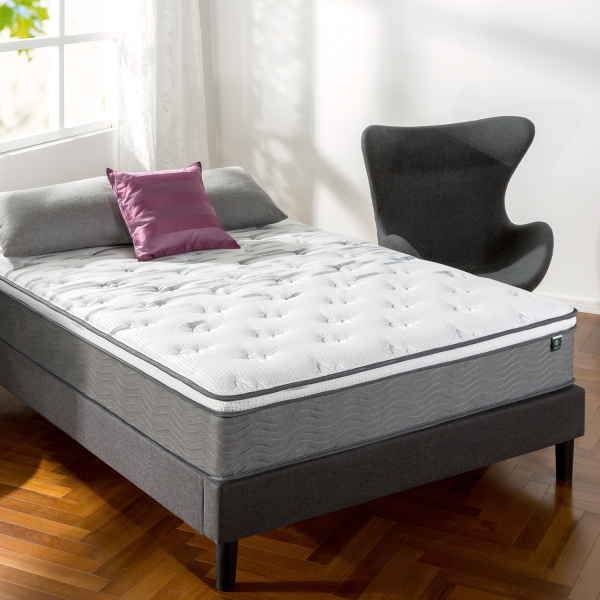 Zinus® 30cm Euro Top iCoil® Mattress (12)