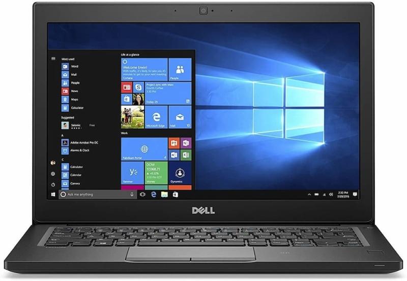 [SG Seller] (Certified Refurbished) Dell Latitude 7280 Business Ultrabook | Intel Core i5-6300U 6th Gen | 2.4GHz 12.5-Inch | 8GB RAM | 256GB SSD | Windows 10 Pro