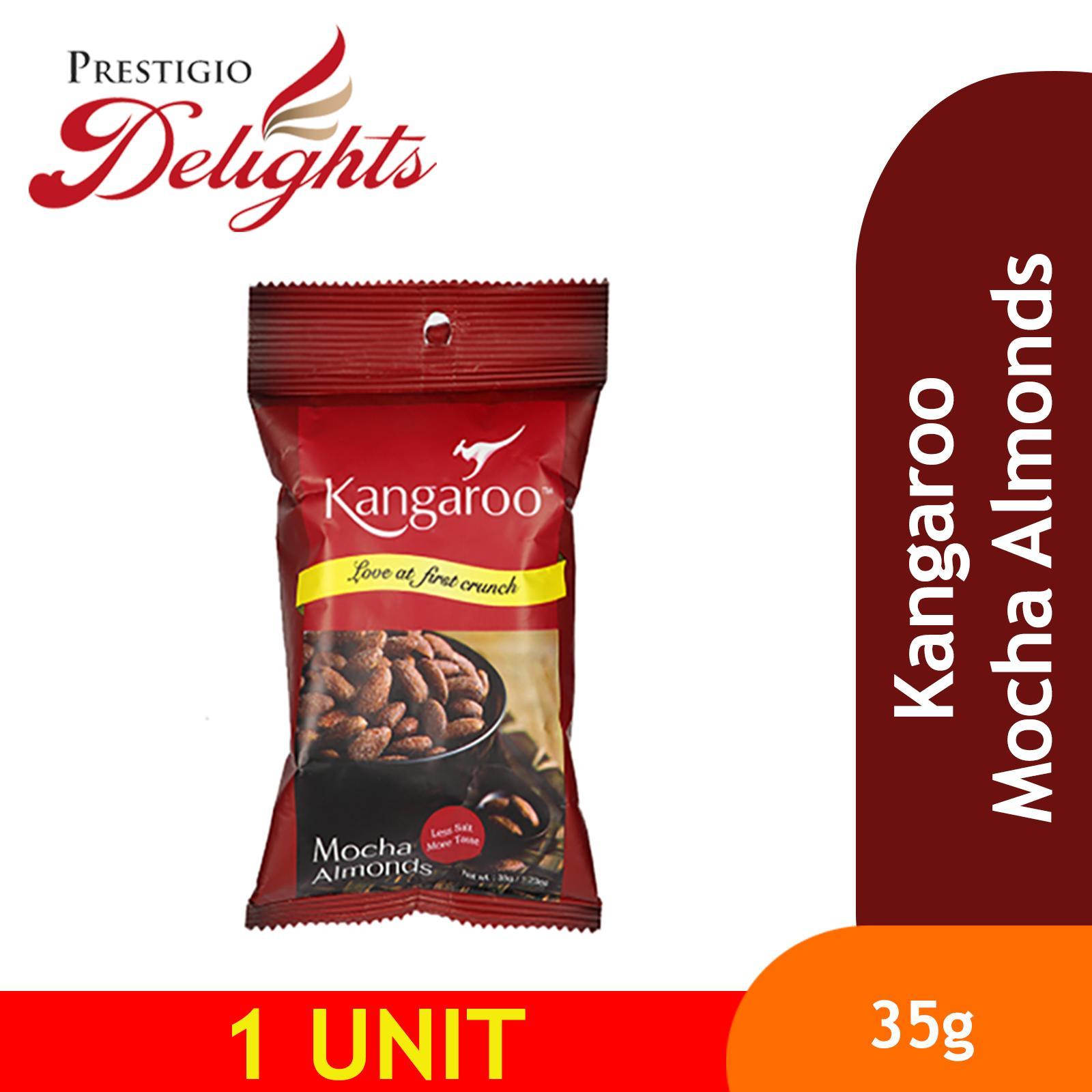 Kangaroo Mocha Almond 35g