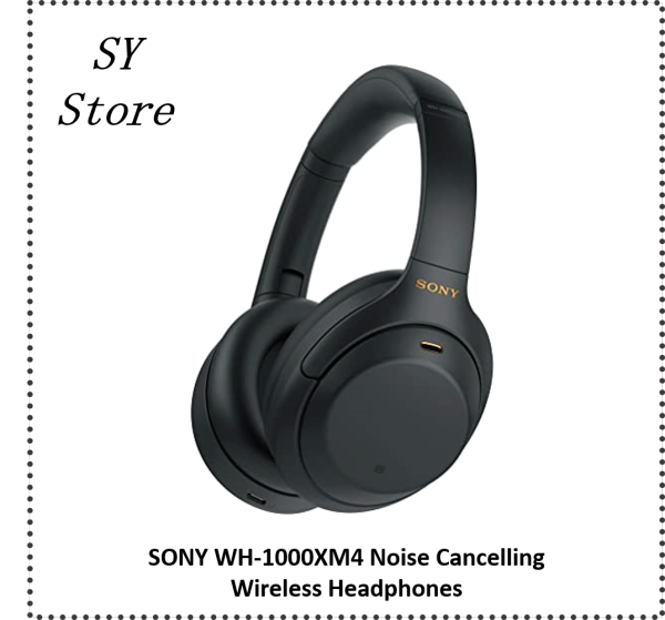 Sony WH-1000XM4 Wireless Bluetooth 5.0 Active Noise Canceling Headphone with Multipoint Connection and Speak-to-Chat Technology - SY Store Singapore