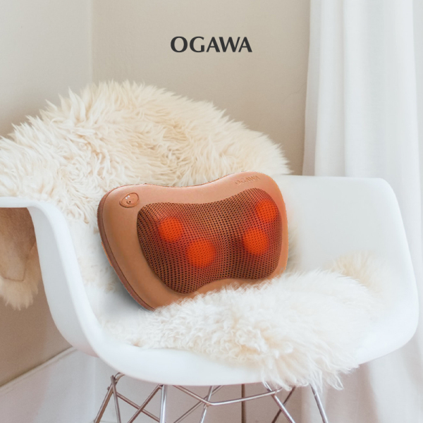 Buy Ogawa De-Luxe (Brown) - Rechargeable Multipurpose Massage Pillow Singapore