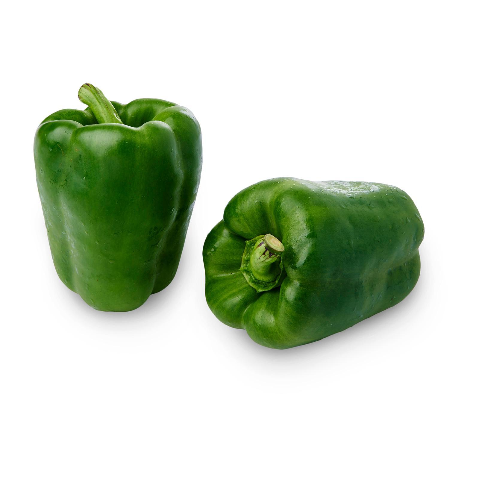 Thygrace Green Capsicum - 2 Pieces By Redmart.