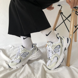 Siêu Lửa Giày Nữ Lưới Thoáng Khí Trắng Bạc Đường Phố Ulzzang Giày Thể Thao Hàn Quốc Phong Cách Harajuku Giày Chạy Bộ thumbnail