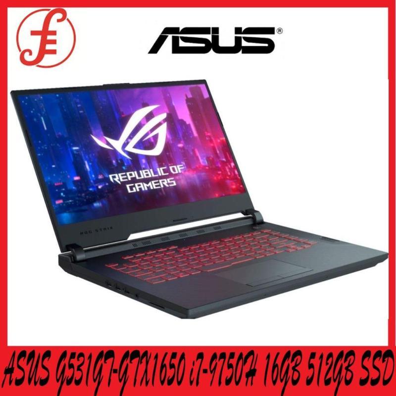 ASUS ROG G531GT-GTX1650 i7-9750H Win10 64bit 16GB Ram + 512GB PCIe NVMe SSD NVIDIA GeForce GTX 1650 15.6 FHD (G531GT-GTX1650)