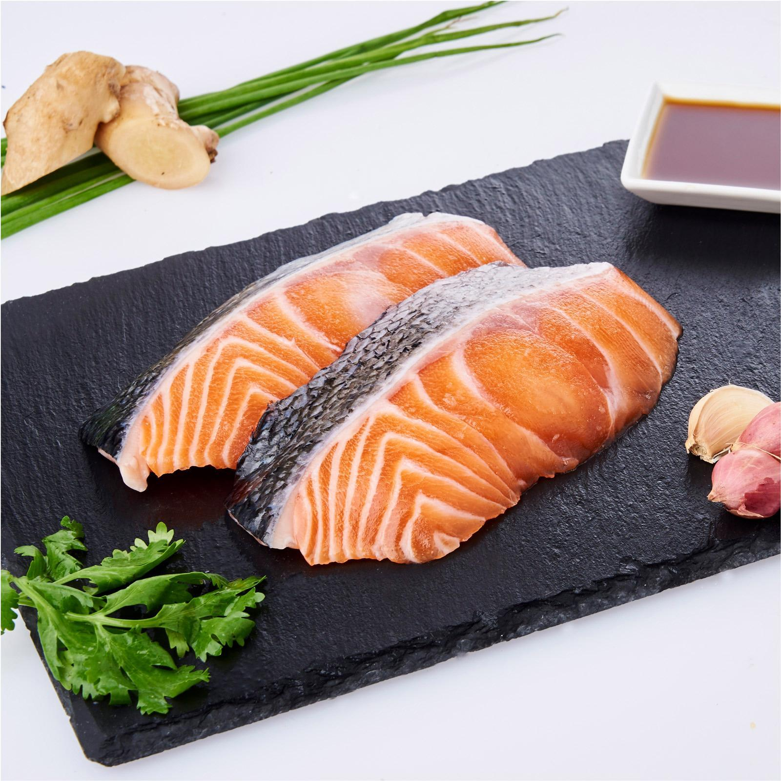 Serve By Hai Sia Seafood - Fresh Norwegian Salmon Portions By Redmart.