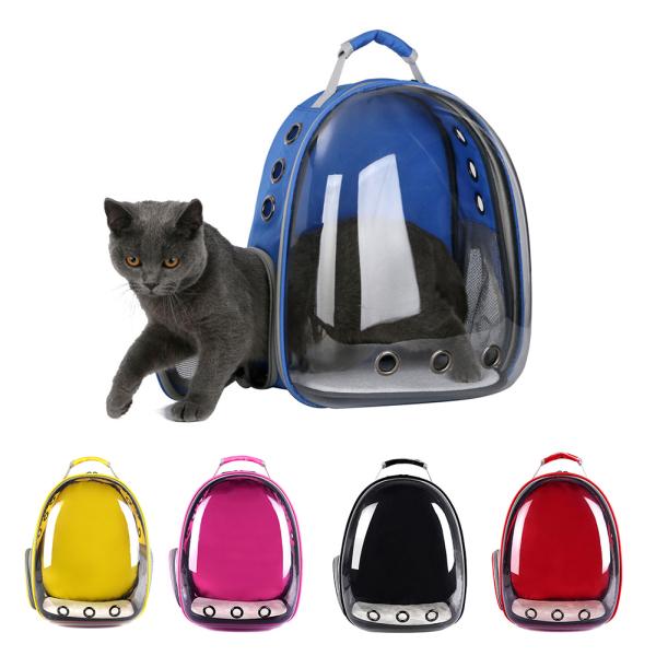 1 Chiếc Ba Lô Thú Cưng Di Động Túi Đựng, Ba Lô Viên Nang Không Gian Trong Suốt Cho Chó Mèo Chó Con Mèo Con