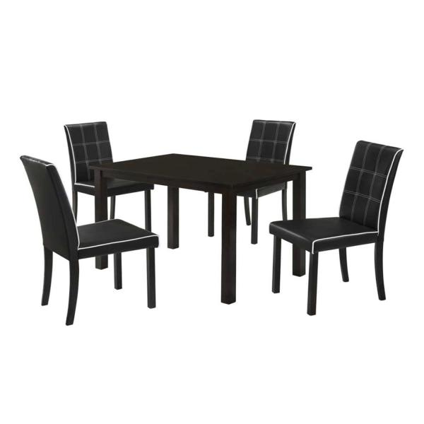 LIVING MALL_Gilbert Dining Set_1+4_FREE DELIVERY