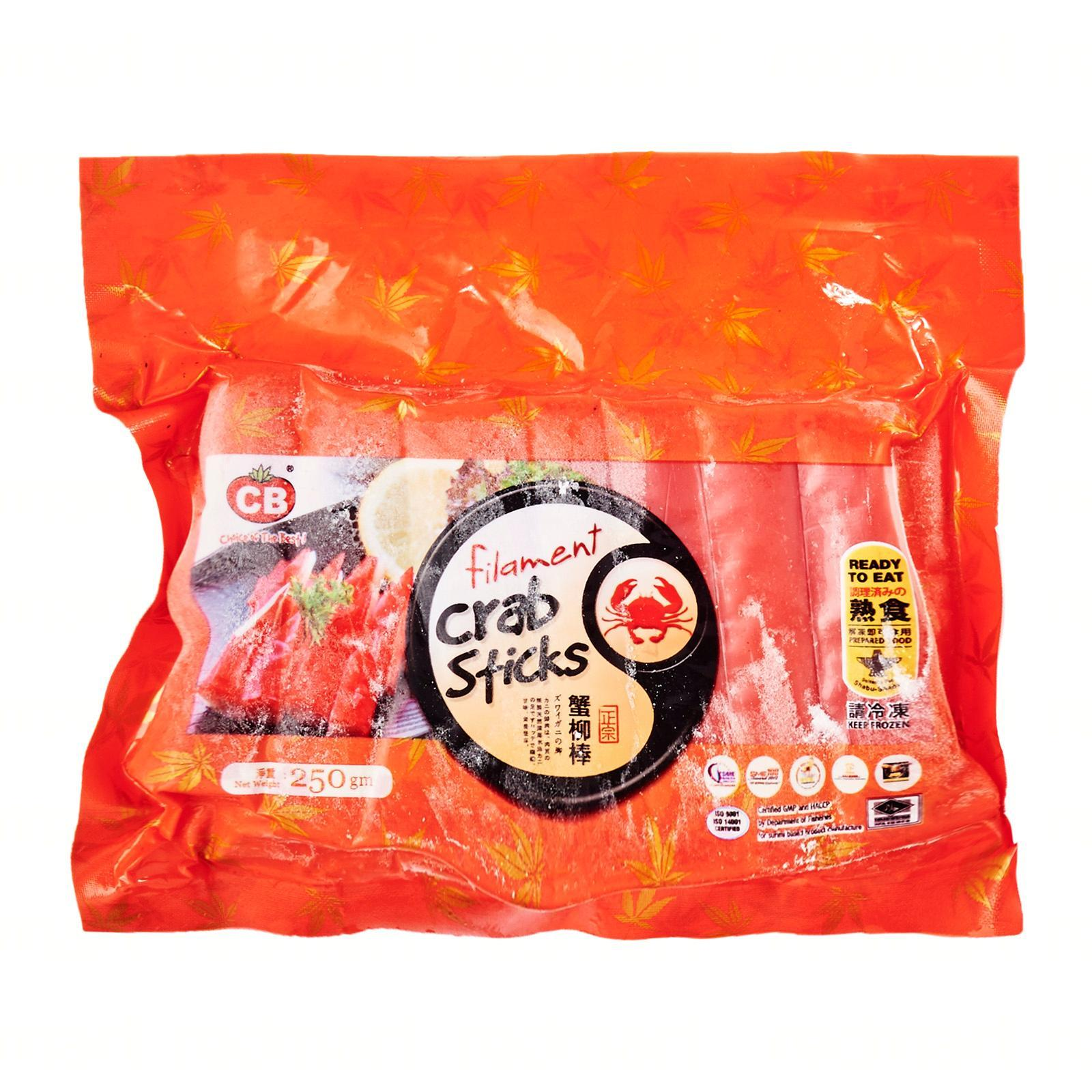Cb Thai Filament Crab Stick - Frozen By Redmart.