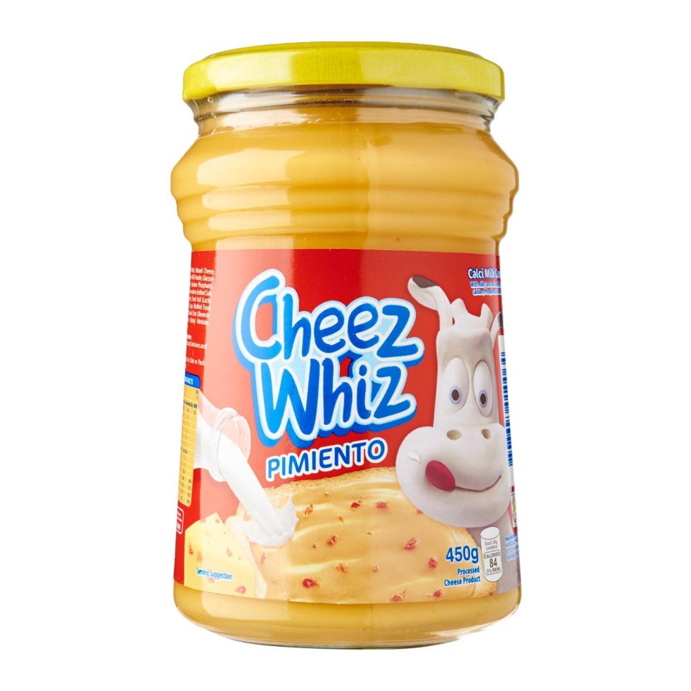 Cheez Whiz Pimiento Cheese Spread